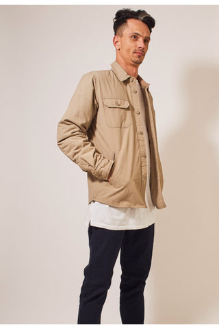 CPO Shirt Jacket - Dark Khaki