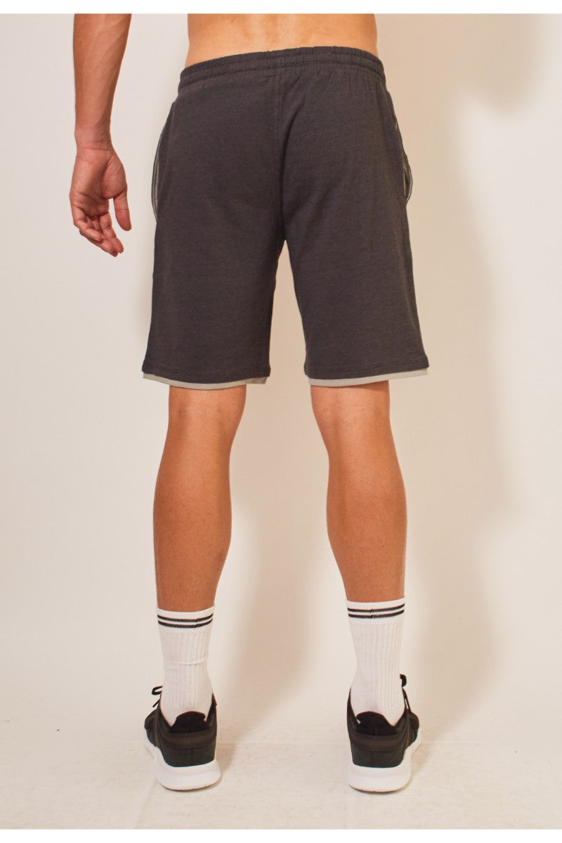 Layers II 19In Shorts - Charcoal