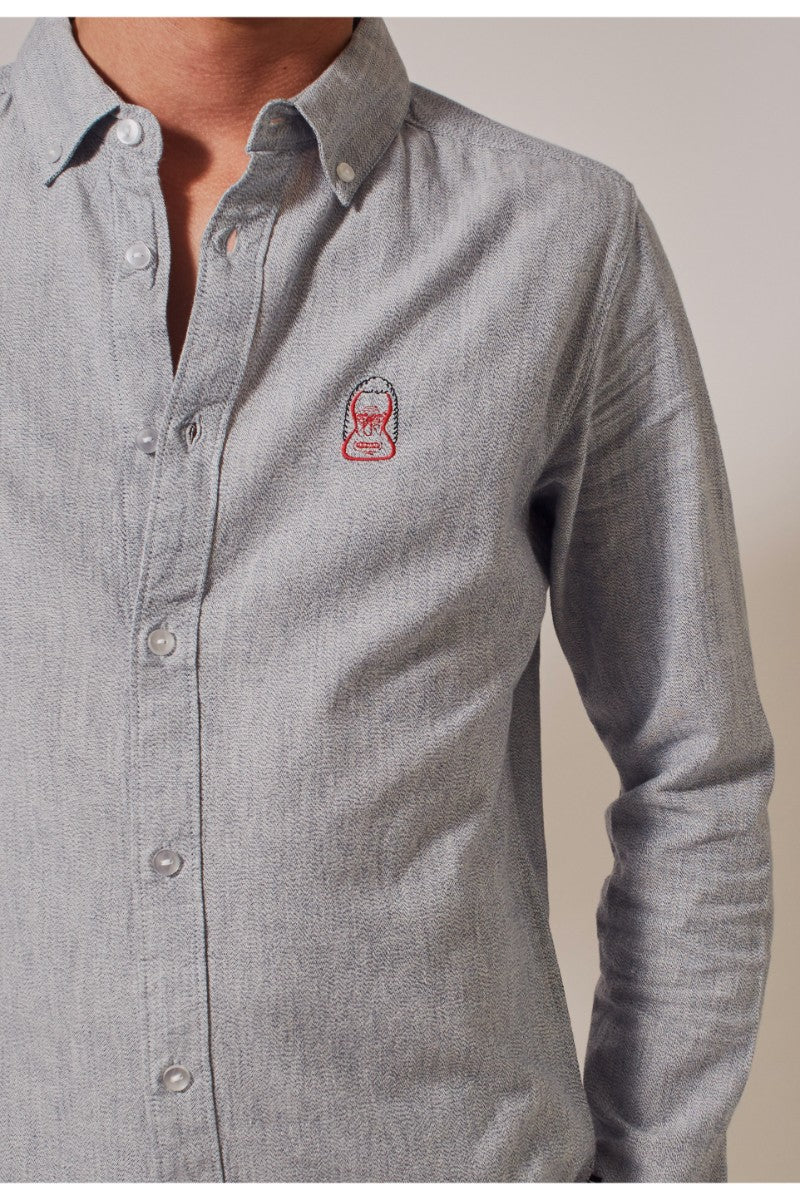 Barry McGee LS Shirt - Grey