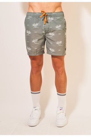Dip Pull On Shorts - Green