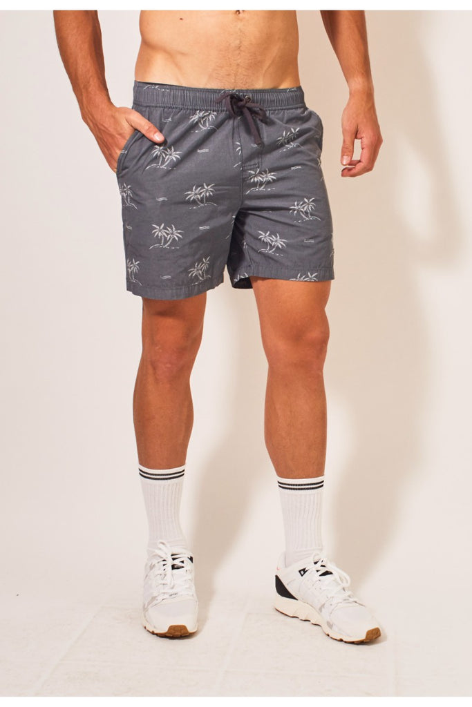 Dip Pull On Shorts - Blue