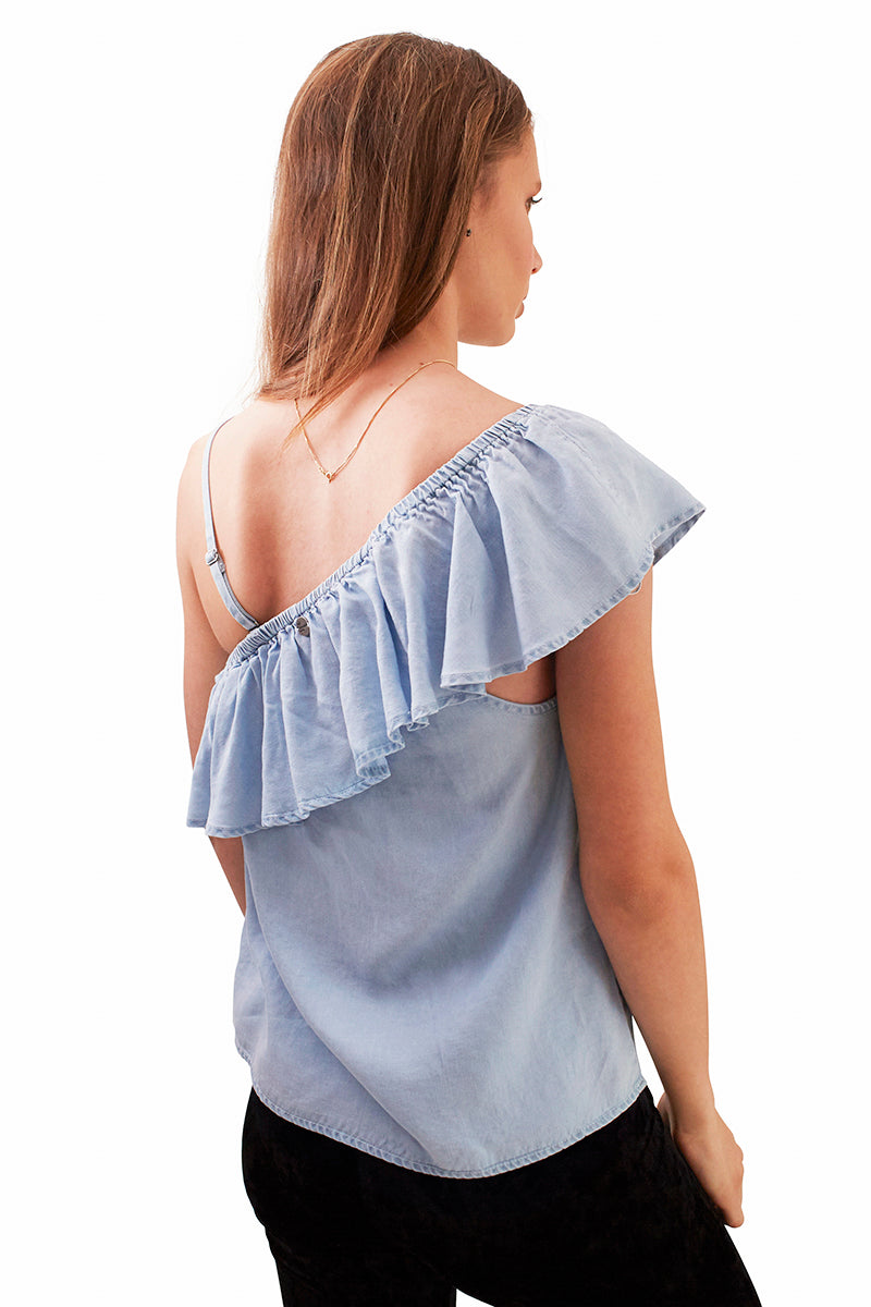Frances Top - Light Blue