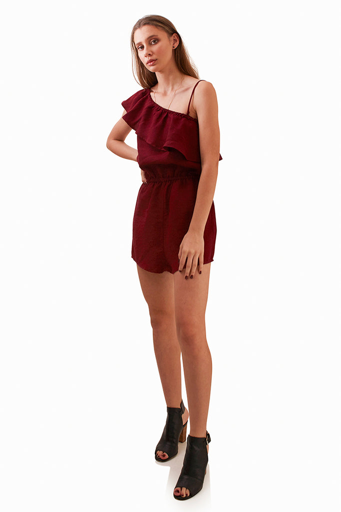 2d4c7362e92 Stella Playsuit - Plum