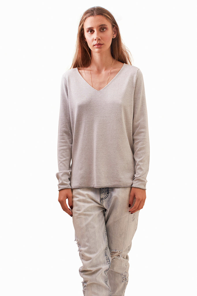 Lila Knit - Grey