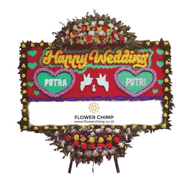 Two Hearts Flowers_Board_Happywedding