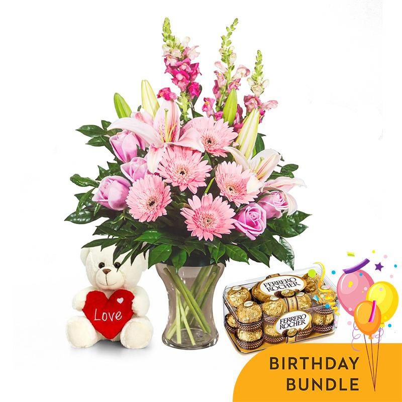 Pink Delight Birthday Bundle