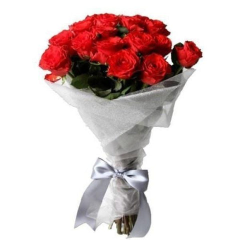 Classic Long Stemmed Roses Flowers_Bouquet