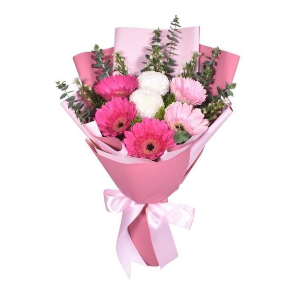 Rose Quartz Flowers_Bouquet