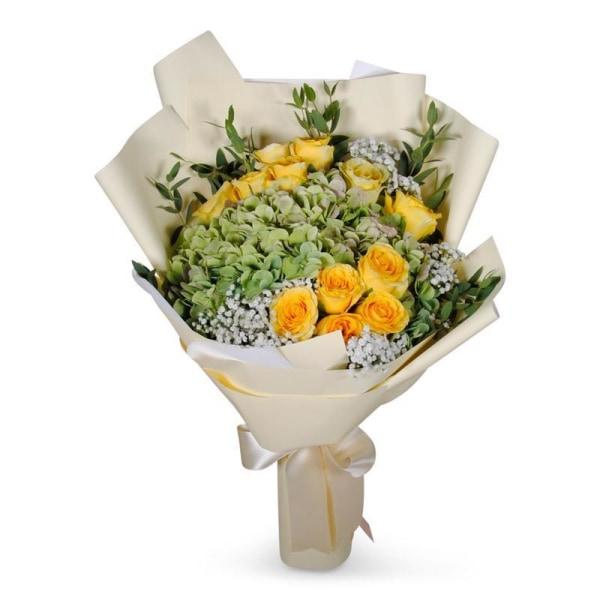 Lemon Breeze Flowers_Bouquet