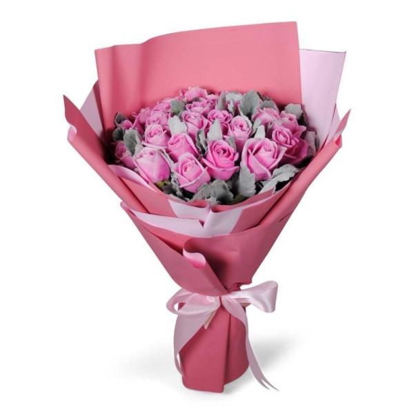 Pink Burst Flowers_Bouquet