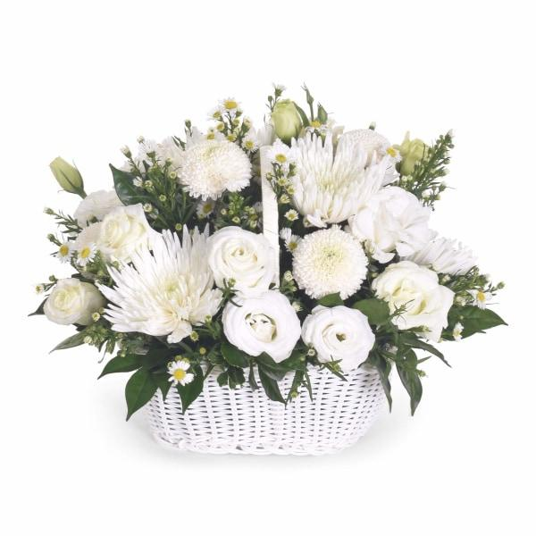 Purest Love Flowers_Basket