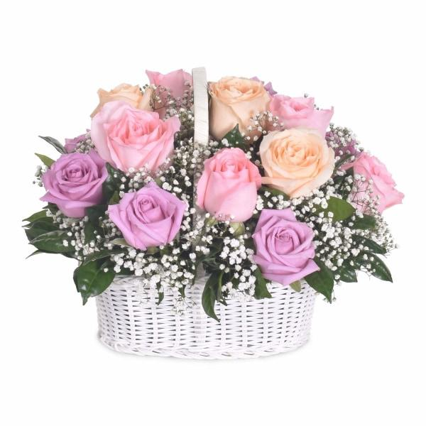My Ever After Flowers_Basket