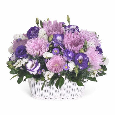 Elegant Twist Flowers_Basket