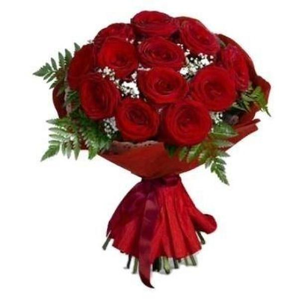 Lamour Red Rose Bouquet Flowers_Bouquet