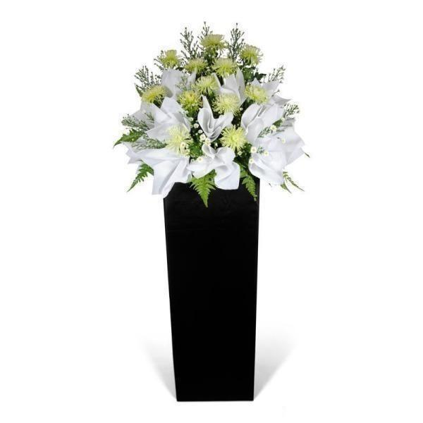 Gentle Sentiment Flowers_Stand_Condolence
