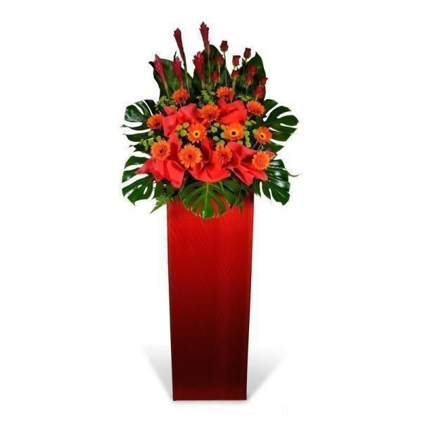 The Pinnacle Of Success Flowers_Stand_Opening