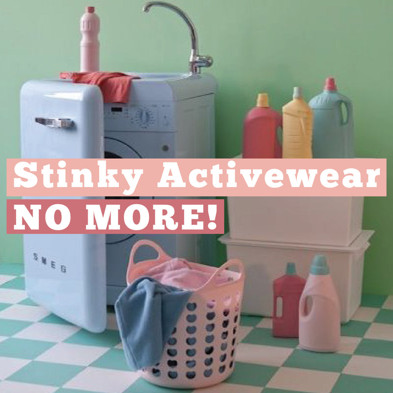 Stinky Activewear No More!