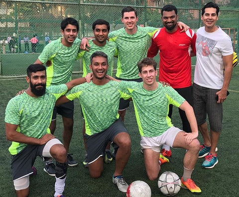 Roots Panthers at the Football Five Championship, Mumbai