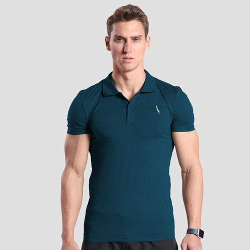 Seeker Polo Dark Teal