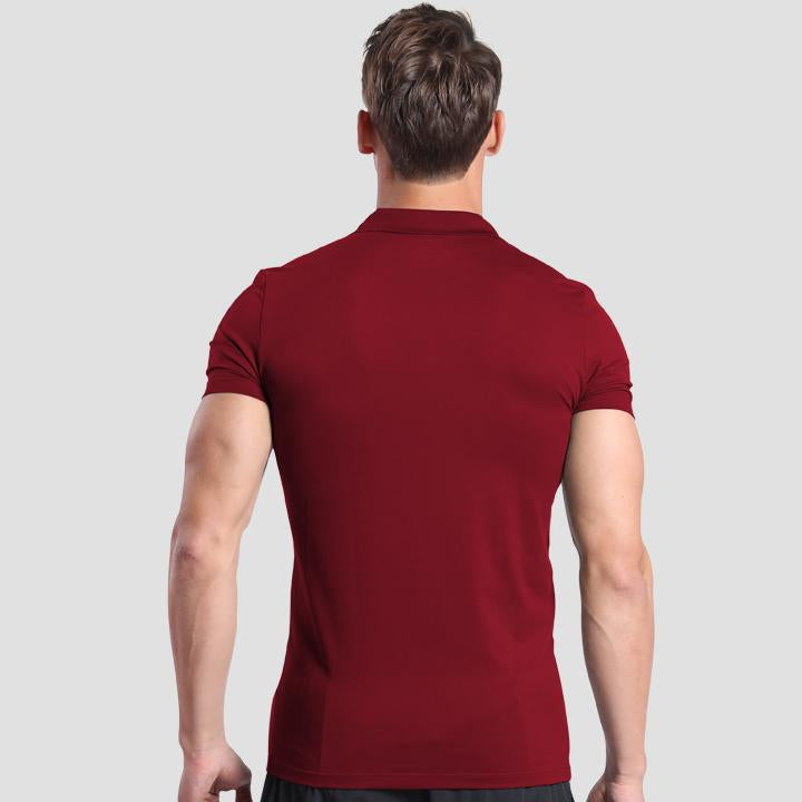 Seeker Polo Maroon
