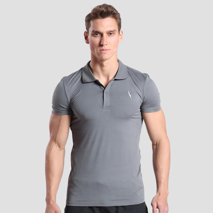 Seeker Polo Grey