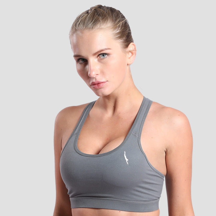 Zen Sports Bra Grey