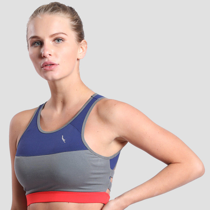 Freedom Sports Bra Navy