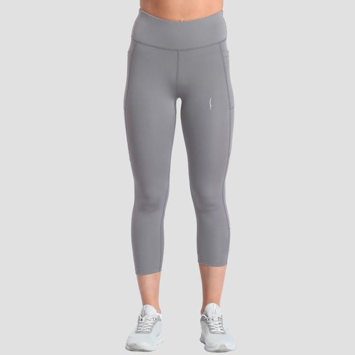 Ace Capris Light Grey