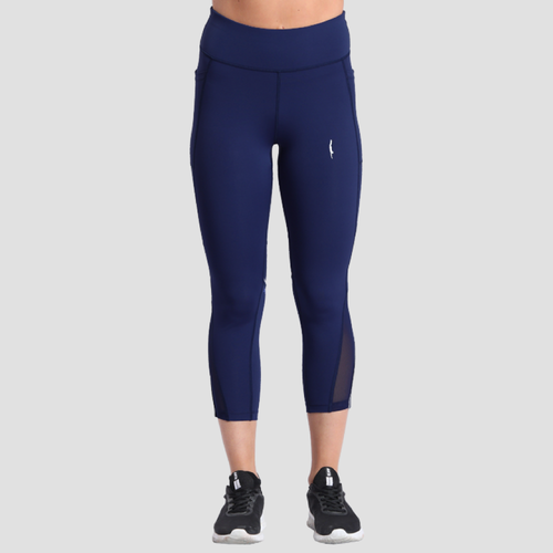 Define Crops Dark Navy