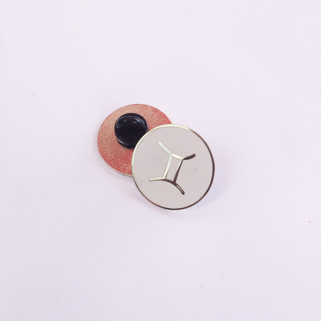 Zodiac Sign — Gemini  Lapel Pin