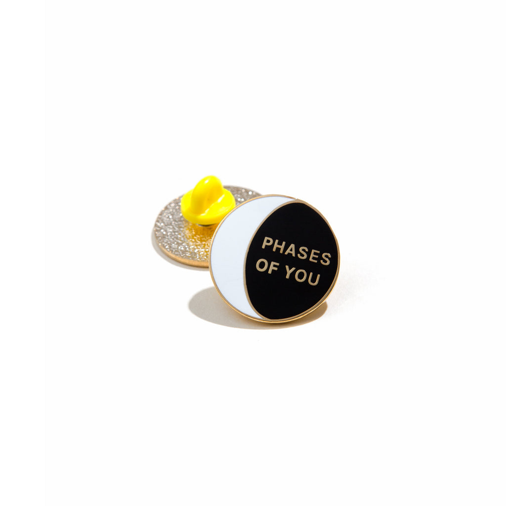 'PHASES OF YOU' LAPEL PIN
