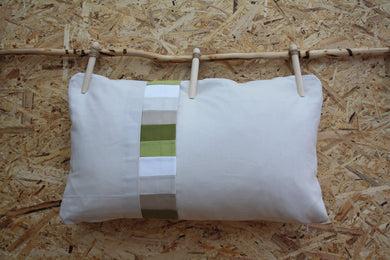 Beige small cushion - Layers of the earth