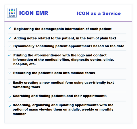 ICON EMR as a Service