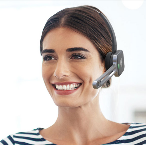 Philips SpeechOne PSM6500 Wireless Dictation Headset
