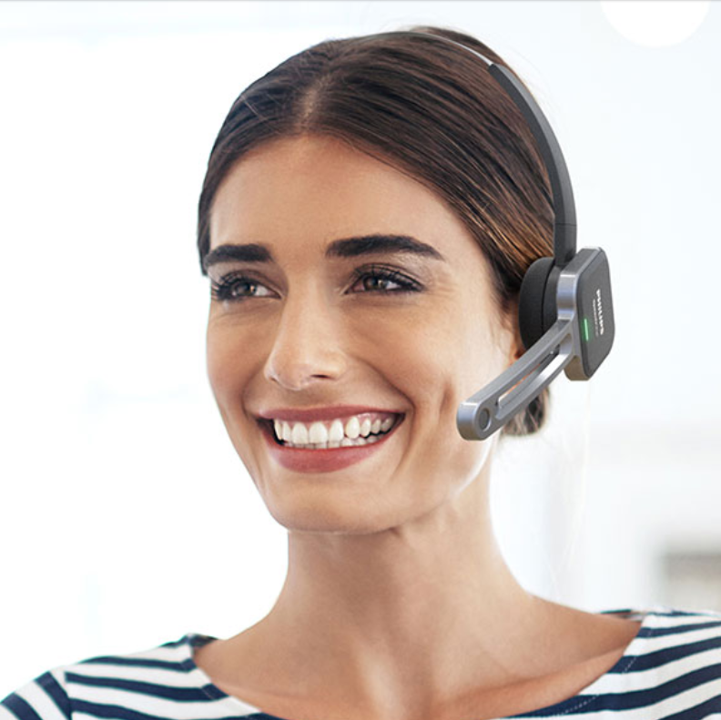 8518a946a6b Philips SpeechOne PSM6500 Wireless Dictation Headset – Health IT ...