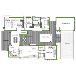 3 Bedroom 273m2 [FLOOR PLAN ONLY]
