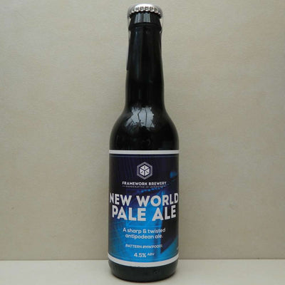 Framework New World Pale Ale BBE 01/08/17