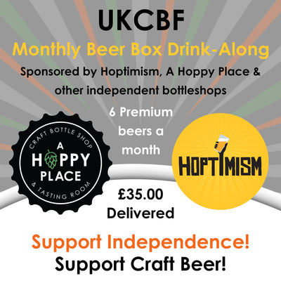 UKCBF Monthly Beer Box Drink-Along - Friday 14th May 2021