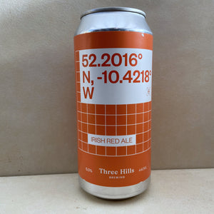Three Hills Co-ordinates Irish Red