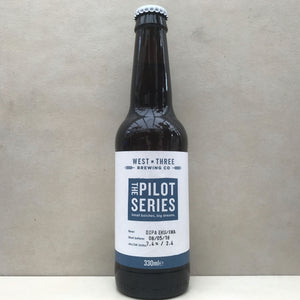 West By Three The Pilot Series - DIPA Ekuanot & Amarillo BBE 08/05/18