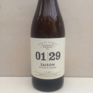 Brew By Numbers 01/29 Saison Oyster & Kombu