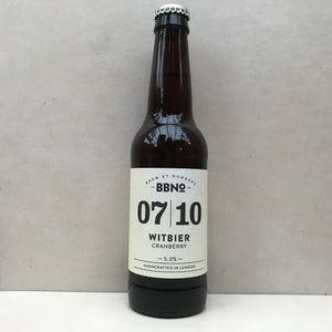 Brew By Numbers 07/10 Witbier Cranberry