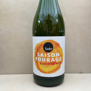 Yonder Saison Fourage Elderflower