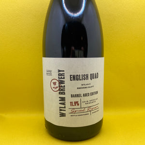 Wylam English Quad 2018 Special Reserve