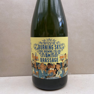 Burning Sky x Fork Brewing Les Amis Du Brassage
