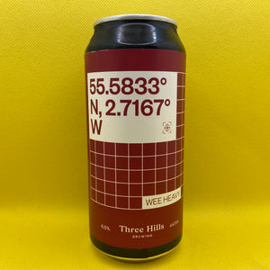 Three Hills Co-ordinates Wee Heavy