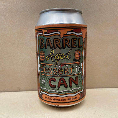 Amundsen Barrel Aged Dessert In A Can Salted Caramel Choc Chip Cookie