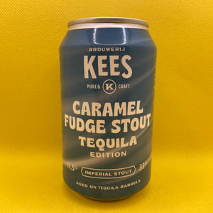 Kees Caramel Fudge Stout Tequila Edition