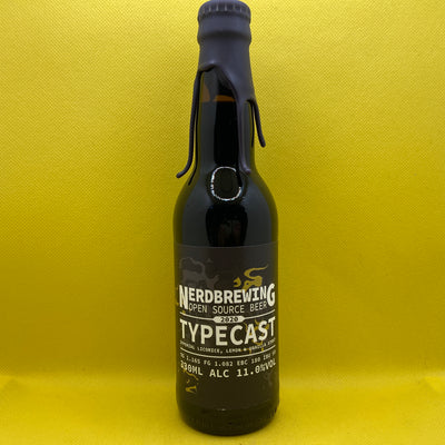 Nerdbrewing Typecast Imperial Licorice, Lemon & Vanilla Stout