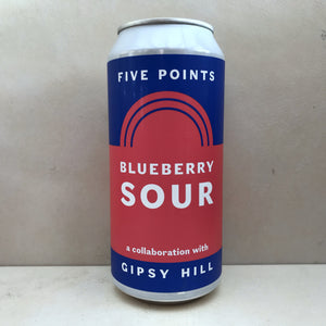 Five Points x Gipsy Hill Blueberry Sour BBE 29/5/19